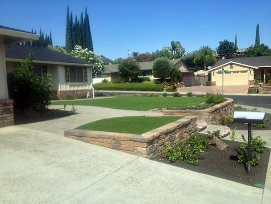 Artificial Grass Photos: Fake Grass Carpet Village of Oak Creek (Big Park), Arizona Roof Top, Front Yard Design