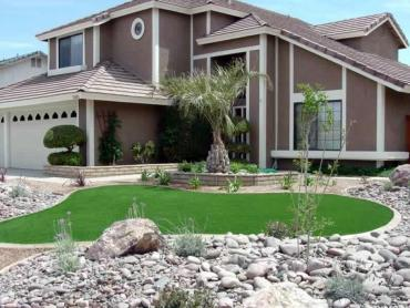 Artificial Grass Photos: Green Lawn Surprise, Arizona Lawn And Landscape, Front Yard Landscaping Ideas