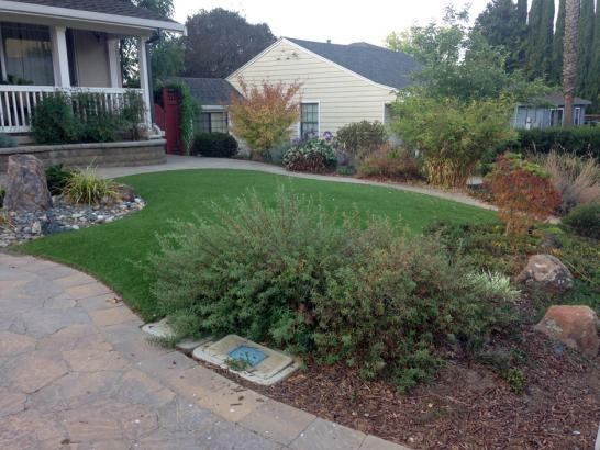 Artificial Grass Photos: Installing Artificial Grass Coolidge, Arizona Home And Garden, Front Yard Landscaping Ideas