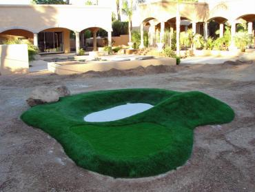 Artificial Grass Photos: Synthetic Grass Cost Munds Park, Arizona Backyard Putting Green, Commercial Landscape