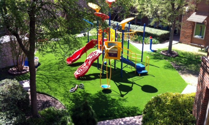 Artificial Grass for Playgrounds in Tuscon, Arizona